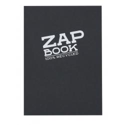 Zap Book encollé 160F 80g Noir