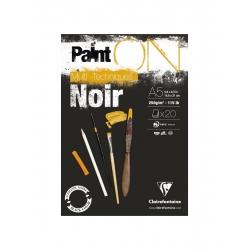 Bloc Paint On Noir 250g