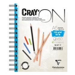 Bloc Cray'ON Spiralé 50F 120g