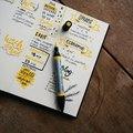 Résolutions pour 2021, et si on tenait un bullet journal ?   #creation #2021 #bulletjournal #art #drawing #resolutions #organisation #colorful #idea #painting #creativity #newlife #dessin #agenda #workbook